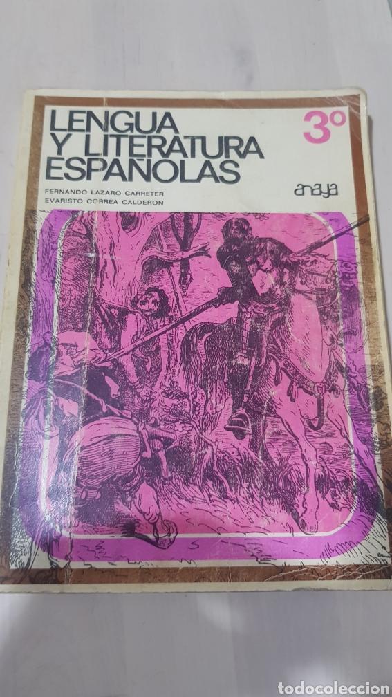 LIBRO LENGUA Y LITERATURA ESPAÑOLAS ANAYA (Libros sin clasificar)
