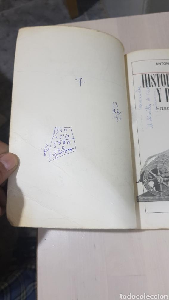 Libros: LIBRO HISTORIA UNIVERSAL Y DE ESPAÑA ANAYA 1969 - Foto 4 - 194254927