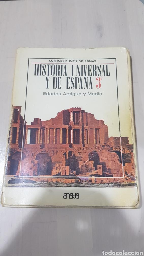 LIBRO HISTORIA UNIVERSAL Y DE ESPAÑA ANAYA 1969 (Libros sin clasificar)