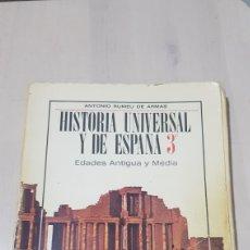 Libros: LIBRO HISTORIA UNIVERSAL Y DE ESPAÑA ANAYA 1969. Lote 194254927