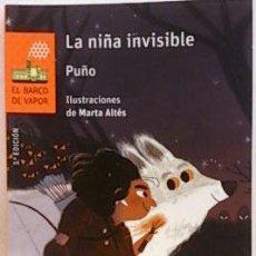 Libros: LA NIÑA INVISIBLE. Lote 194258776