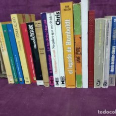 Libros: LOTE DE UNOS 17 LIBROS CON ENCUADENACIÓN RÚSTICA, A CLASIFICAR, VARIOS AÑOS Y TEMÁTICAS. Lote 194262370