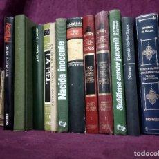 Libros: LOTE DE UNOS 13 LIBROS CON ENCUADENACIÓN EDITORIAL, A CLASIFICAR, VARIOS AÑOS Y TEMÁTICAS. Lote 194262423