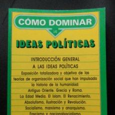 Libros: INTRODUCCION GENERAL A LAS IDEAS POLITICAS. Lote 194297148
