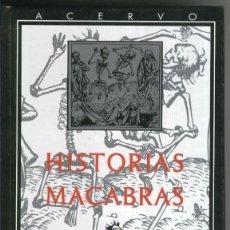 Libros: EDIT ACERVO: 19 HISTORIAS MACABRAS. Lote 194298311