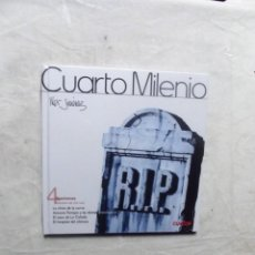 Libros: CUARTO MILENIO Nº 4 APARICIONES DE IKER JIMENEZ ( LIBRO + DVD ) . Lote 194326761