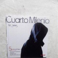 Libros: CUARTO MILENIO Nº 5 LA SOBRA DEL MALIGNO DE IKER JIMENEZ ( LIBRO + DVD ) . Lote 194326952