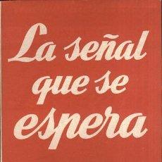 Libros: LA SEÑAL QUE SE ESPERA - ANTONIO BUERO VALLEJO. Lote 194335144