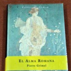 Libros: ALMA ROMANA. Lote 194339137