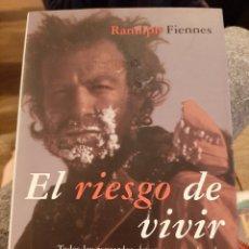 Libros: EL RIESGO DE VIVIR. Lote 194340477