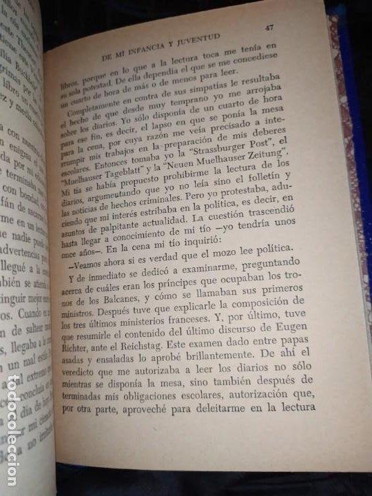Libros: DE MI INFANCIA Y JUVENTUD ALBERT SCHWEITZER SEGUNDA EDICIÓN 1954 PRÓLOGO SOSA - Foto 4 - 194340593