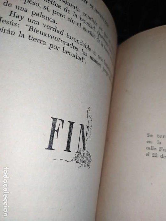 Libros: DE MI INFANCIA Y JUVENTUD ALBERT SCHWEITZER SEGUNDA EDICIÓN 1954 PRÓLOGO SOSA - Foto 9 - 194340593