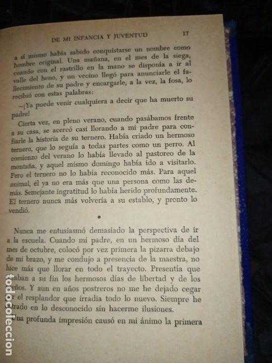 Libros: DE MI INFANCIA Y JUVENTUD ALBERT SCHWEITZER SEGUNDA EDICIÓN 1954 PRÓLOGO SOSA - Foto 13 - 194340593