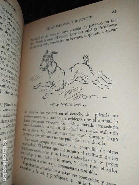 Libros: DE MI INFANCIA Y JUVENTUD ALBERT SCHWEITZER SEGUNDA EDICIÓN 1954 PRÓLOGO SOSA - Foto 19 - 194340593