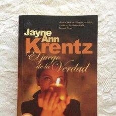 Libros: EL JUEGO DE LA VERDAD - JAYNE ANN KRENTZ. Lote 194355910