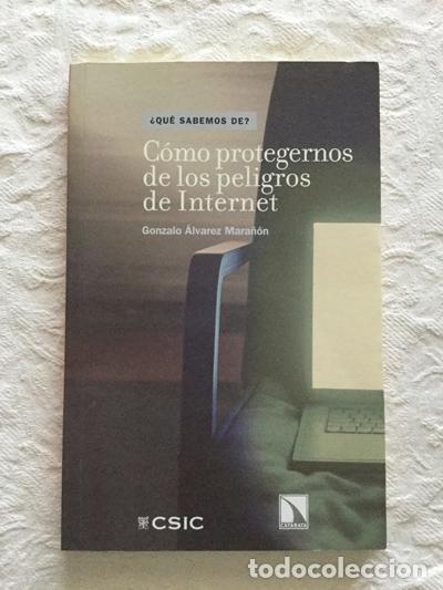 CÓMO PROTEGERNOS DE LOS PELIGROS DE INTERNET - GONZALO ÁLVAREZ MARAÑÓN (Libros sin clasificar)