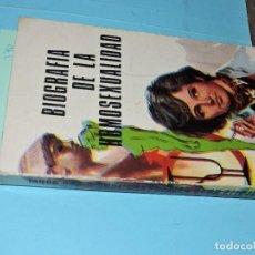 Libros: BIOGRAFÍA DE LA HOMOSEXUALIDAD. VON SOHEL, HELMUTH. ED. PRODUCCIONES EDITORIALES. BARCELONA 1972. Lote 194361846