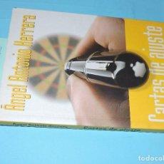 Libros: CARTAS DE AJUSTE. HERRERA, ÁNGEL ANTONIO. ED. BELACQUA. BARCELONA 2003. Lote 194361988