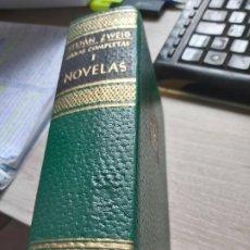 Libros: OBRAS COMPLETAS TOMO I . NOVELAS STEFAN ZWEIG JUVENTUD, BARCELONA, 1968. ENCUADERNACIÓN DE TAPA. Lote 194374660