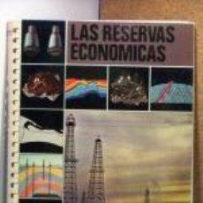 Libros: LAS RESERVAS ECONOMICAS. - J. MONTURIOL POUS - EDICIONES JOVER - 1980. Lote 194428535