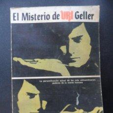 Libros: PUHARICH, ANDRIJA - EL MISTERIO DE URI GELLER. Lote 194493091