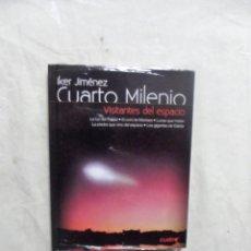 Libros: CUARTO MILENIO DE IKER JIMENEZ Nº 16 VISITANTES DEL ESPACIO ( LIBRO + DVD) . Lote 194511900