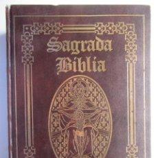 Libros: SAGRADA BIBLIA - GRAN FORMATO - ILUSTRACIONES GUSTAVO DORE - OCEANO. Lote 194518465