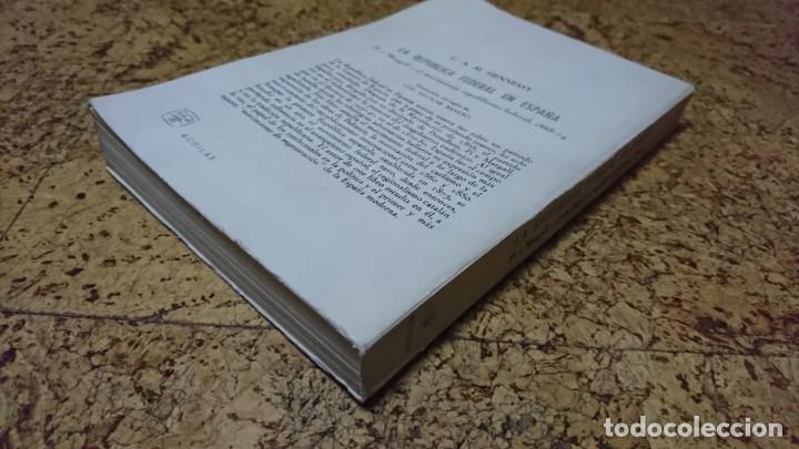 Libros: LA REPÚBLICA FEDERAL EN ESPAÑA, PI Y MARGALL 1868-1874 - Foto 2 - 194535841