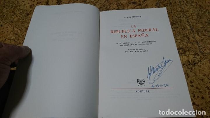 Libros: LA REPÚBLICA FEDERAL EN ESPAÑA, PI Y MARGALL 1868-1874 - Foto 3 - 194535841
