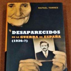 Libros: DESAPARECIDOS DE LA GUERRA EN ESPAÑA. Lote 194536348