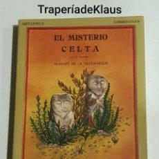 Libros: EL MISTERIO CELTA - HERSART DE LA VILLAMARQUE - TDK125. Lote 194536788