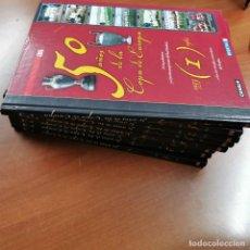 Libros: 50 AÑOS DE LA COPA DE EUROPA 8 TOMOS COMPLETA. Lote 194580016