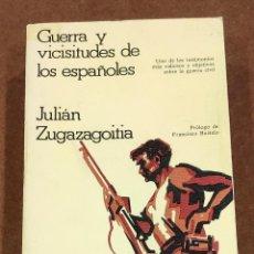 Libros: GUERRA Y VICISITUDES DE LOS ESPAÑOLES. Lote 194581932