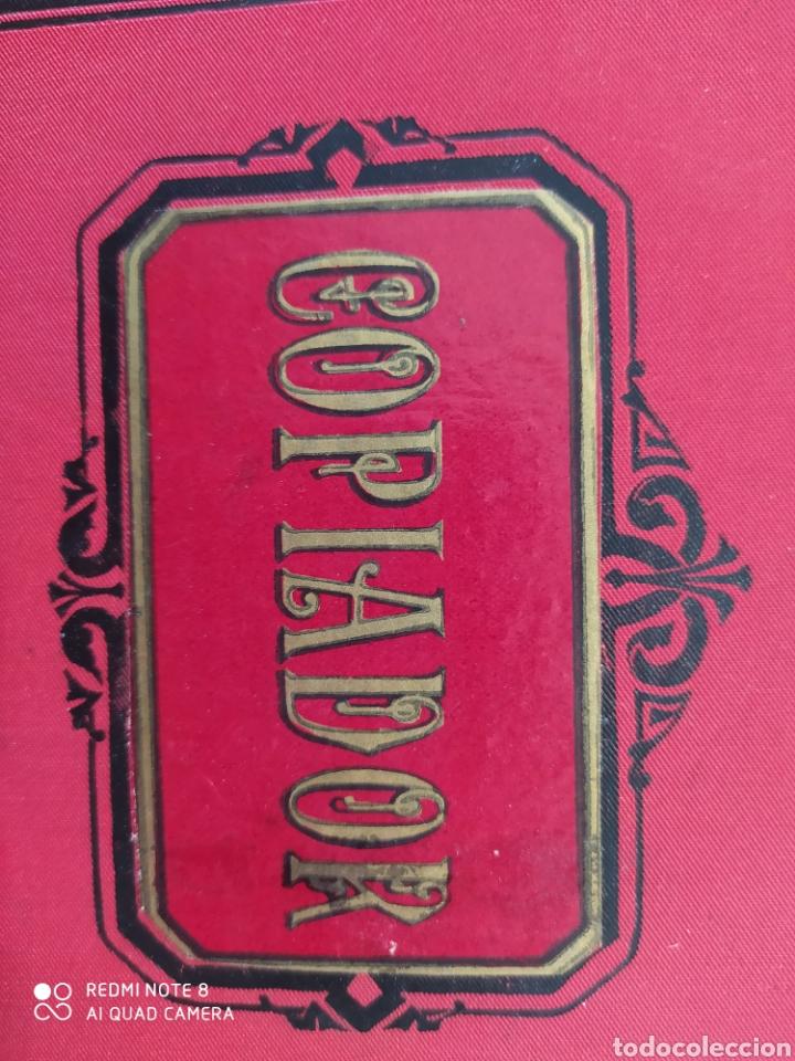 Libros: Antiguo libro copiador. Muy bonito - Foto 3 - 194593841