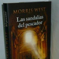 Libros: LAS SANDALIAS DEL PESCADOR - WEST, MORRIS. Lote 194594946