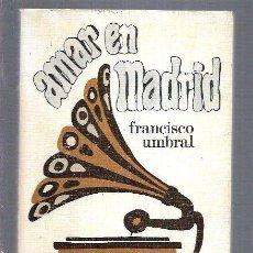 Libros: AMAR EN MADRID. Lote 194647566