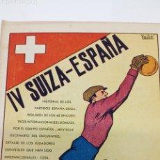 Libros: MINI LIBRO DE FUTBOL AÑO 1940. Lote 194685913