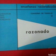 Libros: MATEMATICAS 6°CURSO .ENSEÑANZA RACIONALIZADA .CUADERNODE TRABAJO 4 ED.EMEGE .. Lote 194686995