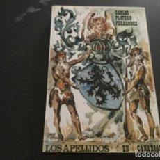 Libros: LOS APELLIDOS EN CANARIAS. CARLOS PLATERO FERNANDEZ . Lote 194719260