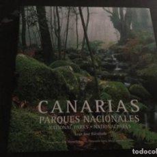 Libros: CANARIAS PARQUES NACIONALES . JUAN JOSÉ BACALLADO .BILINGUE . Lote 194719795