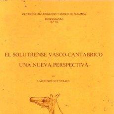 Libros: NOTAS SOBRE LA ECONOMÍA DEL PALEOLÍTICO SUPERIOR - QUIROS, FEDERICO BERNALDO DE. Lote 194753650
