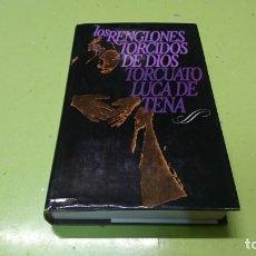 Libros: LOS RENGLONES TORCIDOS DE DIOS, TORCUATO LUCA DE TENA. Lote 194871806