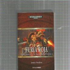 Libros: FURIA ROJA WARHAMMER. Lote 194888648