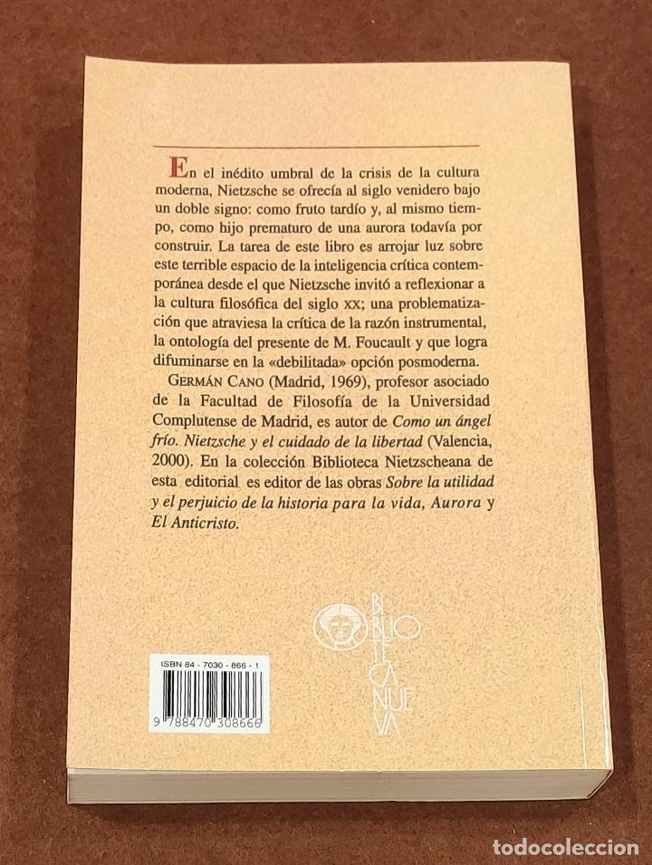 Libros: NIETZSCHE Y LA CRÍTICA DE LA MODERNIDAD - Foto 2 - 194904981