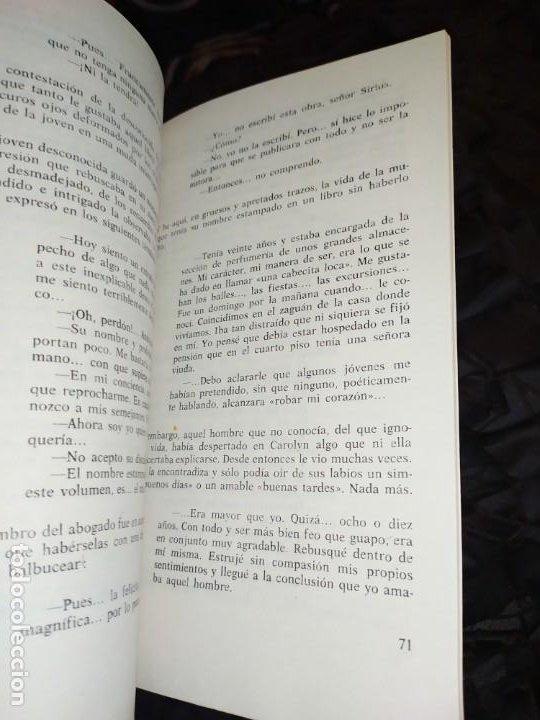 Libros: 4 BIOGRAFÍAS DEL AMOR PASIONAL DOMINGO ROVIRA RECORTA 1972 - Foto 18 - 194905388