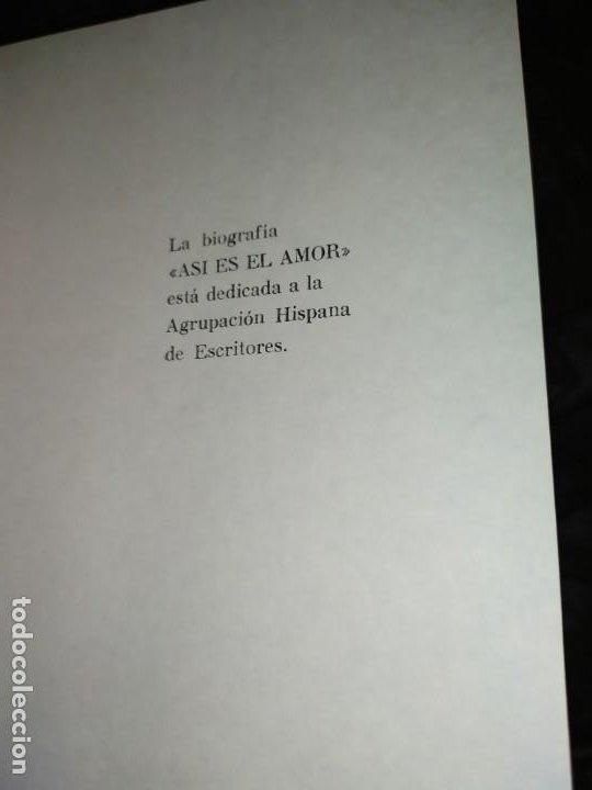 Libros: 4 BIOGRAFÍAS DEL AMOR PASIONAL DOMINGO ROVIRA RECORTA 1972 - Foto 19 - 194905388