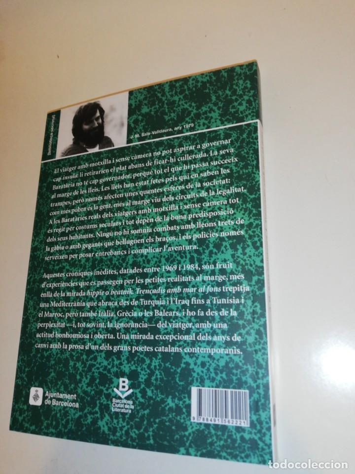 Libros: J. M. Sala - valldaura, trencadis amb mar al fons - Foto 3 - 194906346