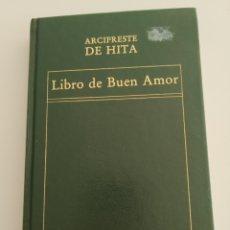 Libros: LIBRO DEL BUEN AMOR. ARCIPRESTE DE HITA. Lote 194941576