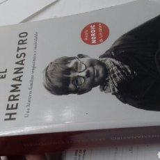 Libros: EL HERMANASTRO. LARS SAABYE. Lote 194948290