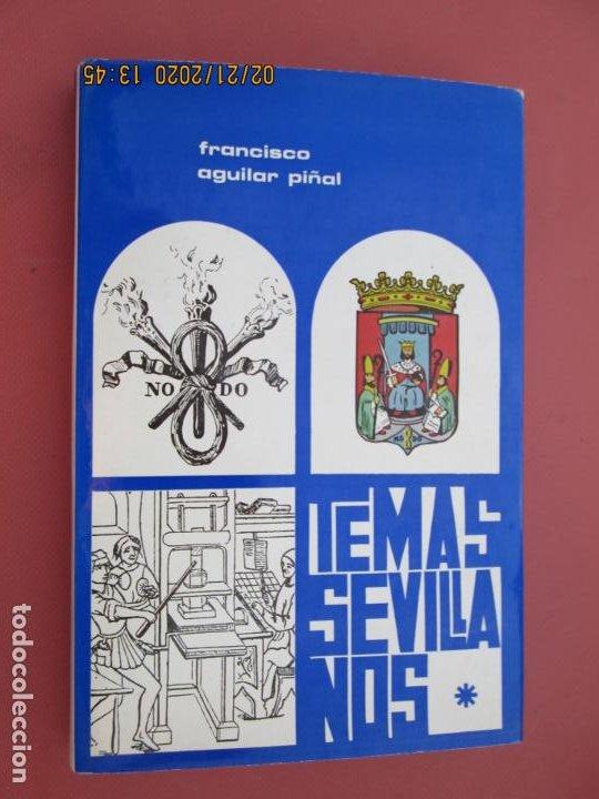 TEMAS SEVILLANOS (PRIMERA PARTE) - FRANCISCO AGUILAR PIÑAL - SEVILLA 1972. (Libros sin clasificar)